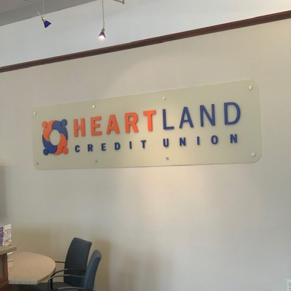 Heartland Credit Union Interior Signage by Schad Tracy